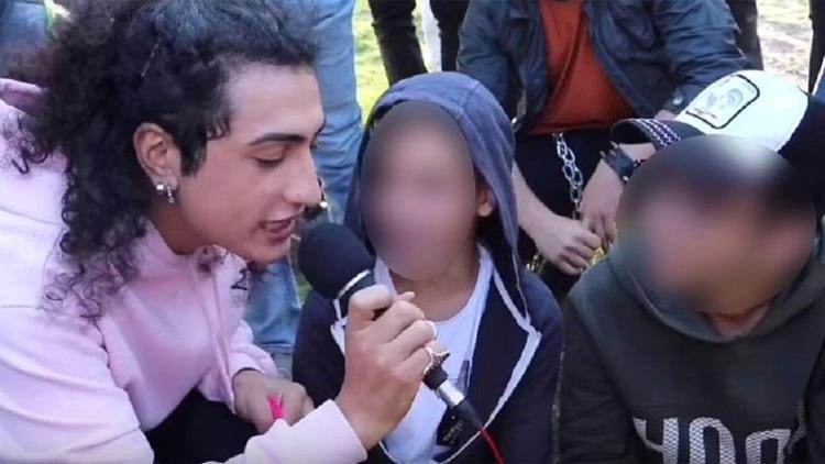Para karşılığında çocukları öpüştüren Gaga Bulut tutuklandı