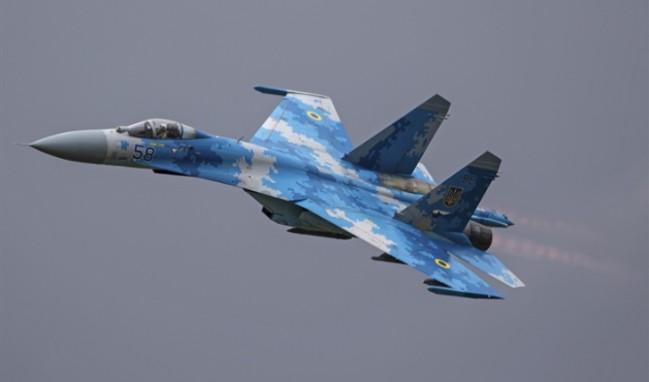 Ukrayna'da savaş uçağı düştü: 2 asker öldü