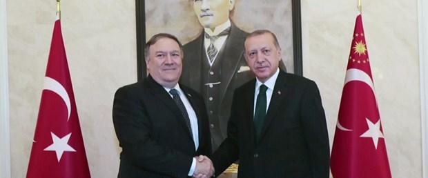 Erdoğan Pompeo görüşmesi sona erdi