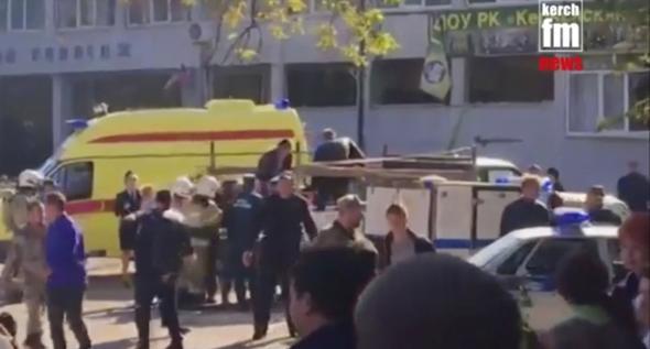 Kırım'da 18 yaşındaki öğrenci katliam yaptı: 17 ölü, 50 yaralı