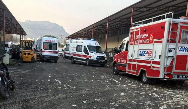 İzmir'de tekstil atölyesinde korkunç olay: 2 ölü