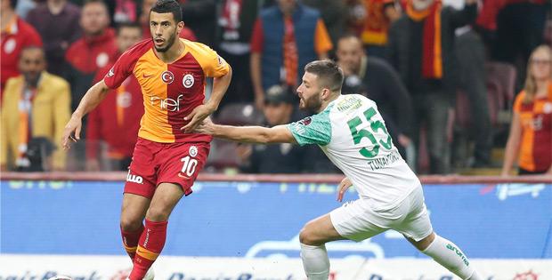 Galatasaray Bursaspor maçı berabere bitti