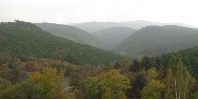 Murat Dağı'nda sonbahar