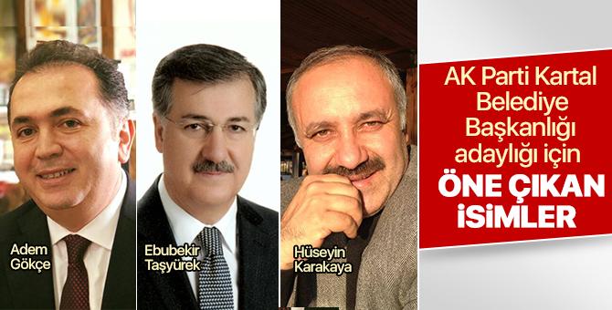 AK Parti Kartal Belediye Başkanlığı adaylığı için öne çıkan isimler