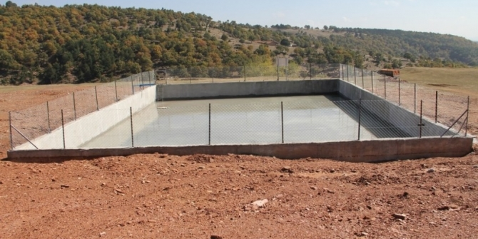 Kuraklığa karşı gölet ve havuz projeleri