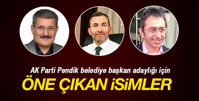 AK Parti Pendik Belediye Başkan Adaylığı için öne çıkan isimler