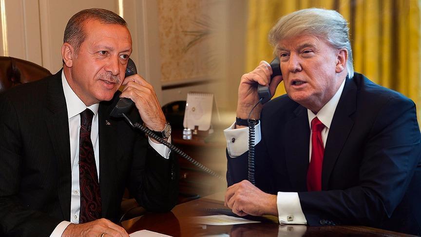 Erdoğan ile Trump arasında Kaşıkçı ve Brunson telefon görüşmesi