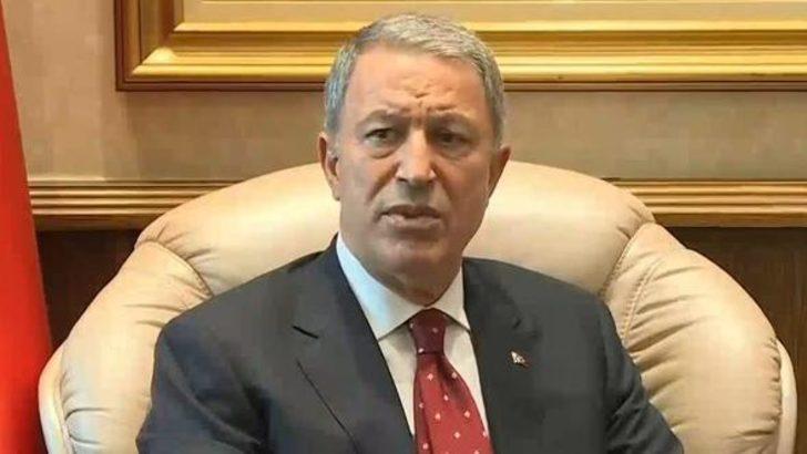 Milli Savunma Bakanı Akar'dan Yunanistan'a sert mesaj