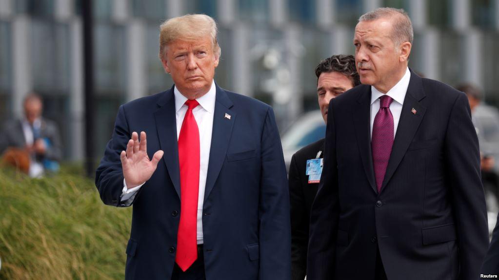 Trump'tan Erdoğan'ın sözlerine yorum '' Oldukça sertti ''
