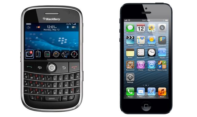 BlackBerry, iPhone'u getirene para ödeyecek