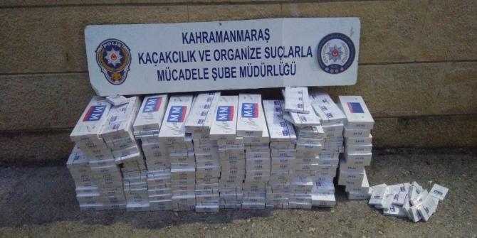 Pikabın gizli bölmesinden 3 bin paket kaçak sigara çıktı
