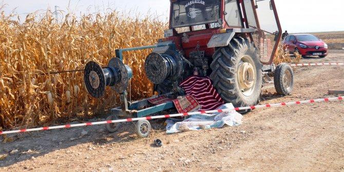 Su borularını toplarken makineye kıyafeti dolanan kadın öldü