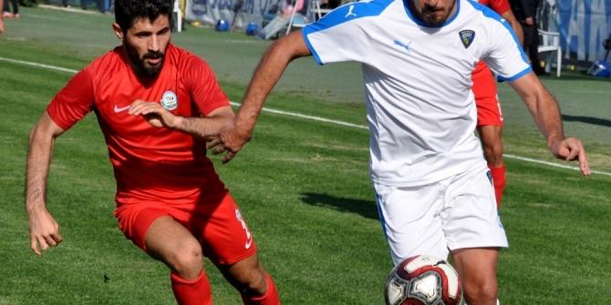 TFF 3. Lig: Karacabey Belediyespor: 1 - Serik Belediyespor: 1
