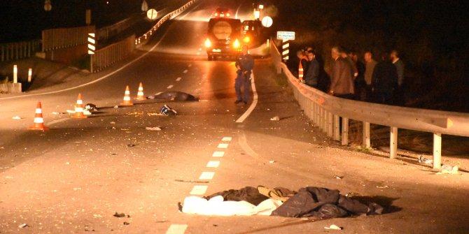 İki kadının öldüğü kazada minibüs sürücüsü tutuklandı
