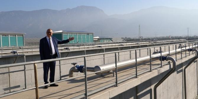 Manisa'nın 75 milyon liralık atıksu arıtma tesisi yatırımı tamamlandı