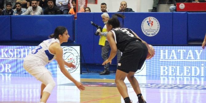Türkiye Kadınlar Basketbol Süper Ligi: Hatay Büyükşehir Belediyespor: 88 - Beşiktaş: 72
