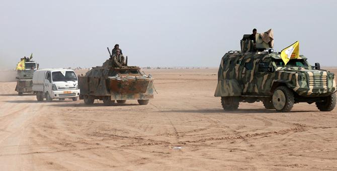 DEAŞ'tan YPG/PKK'ya bombalı araçla saldırı: 10 ölü