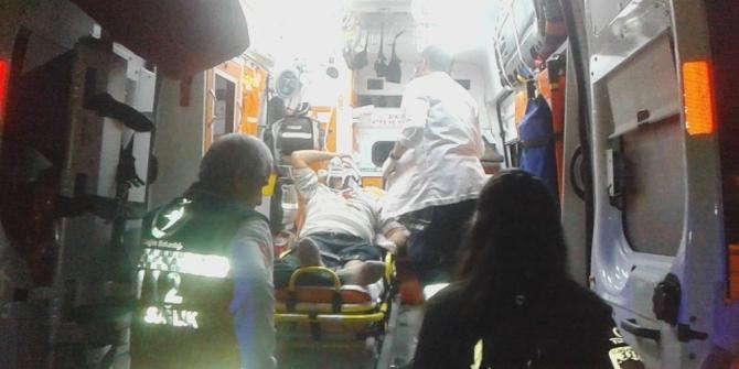 Tekirdağ'da kavga: Baba ve oğlu yaralandı