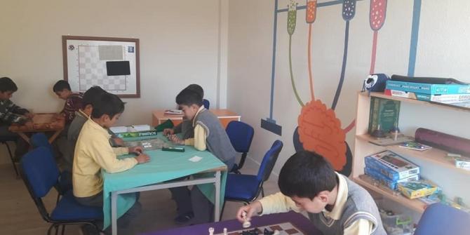 Ortaokul'da 'Akıl ve zeka oyunları' sınıfı