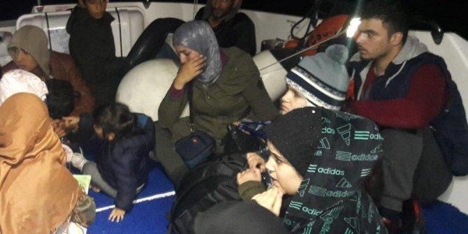 Yunan adalarına gitmeye çalışırken yakalandılar