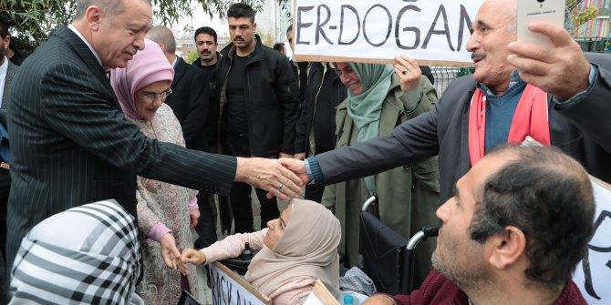 Erdoğan, Gülseren Özdemir Özel Eğitim Uygulama Okulu'nun açılışında konuştu (1)