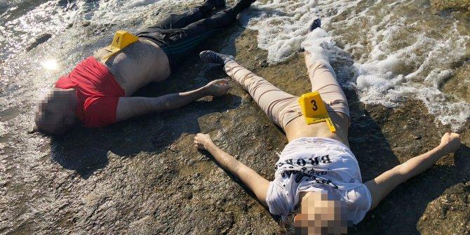 Denizde biri kadın, 2 kişiye ait ceset bulundu