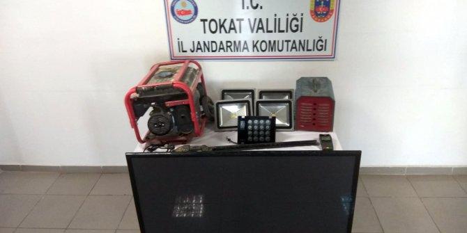 Tokat'ta inşaattan hırsızlığa 1 gözaltı