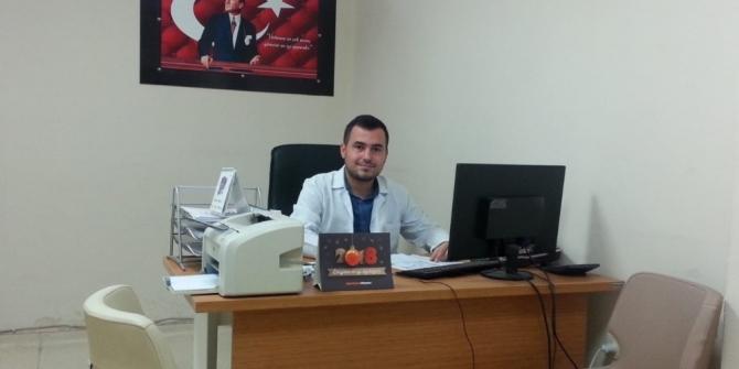Diyetisyen Hacı Mehmet Kirişci göreve başladı