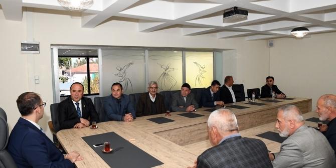 Şehit ailelerinden Kaymakam Türkmen'e ziyaret
