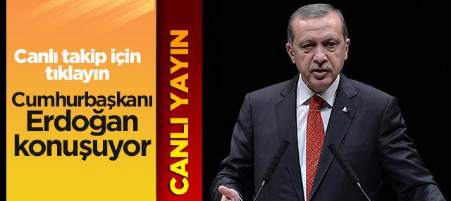 Cumhurbaşkanı Recep Tayyip Erdoğan Konuşuyor