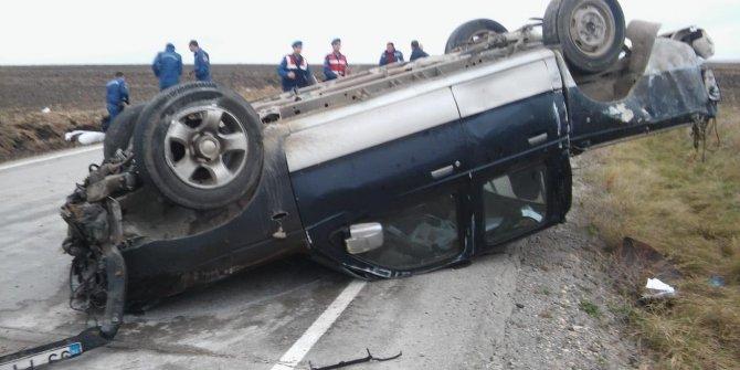 Mahalle muhtarı kazada öldü