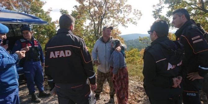 AFAD ve Jandarma ekipleri kayıp çobanı sağ olarak buldu