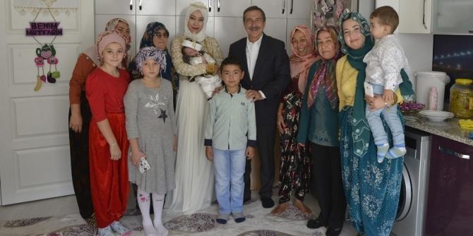 Başkan Ataç, davetler üzerine Muttalip mahallesine konuk oldu