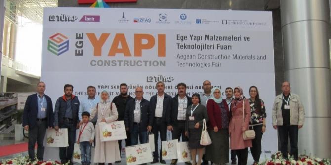 NTO İzmir Yapı Fuarına katıldı
