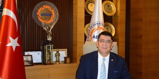 AESOB Başkanı Dere'den Enflasyon değerlendirmesi