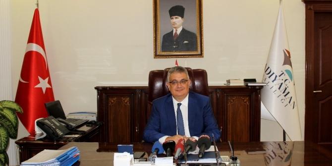 Adıyaman Valisi Aykut Pekmez göreve başladı