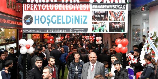 Van'da 'Taraftar Sokak' açıldı