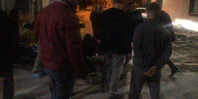 Taksicilerin 'patinaj' kavgasında kan döküldü: 1 yaralı