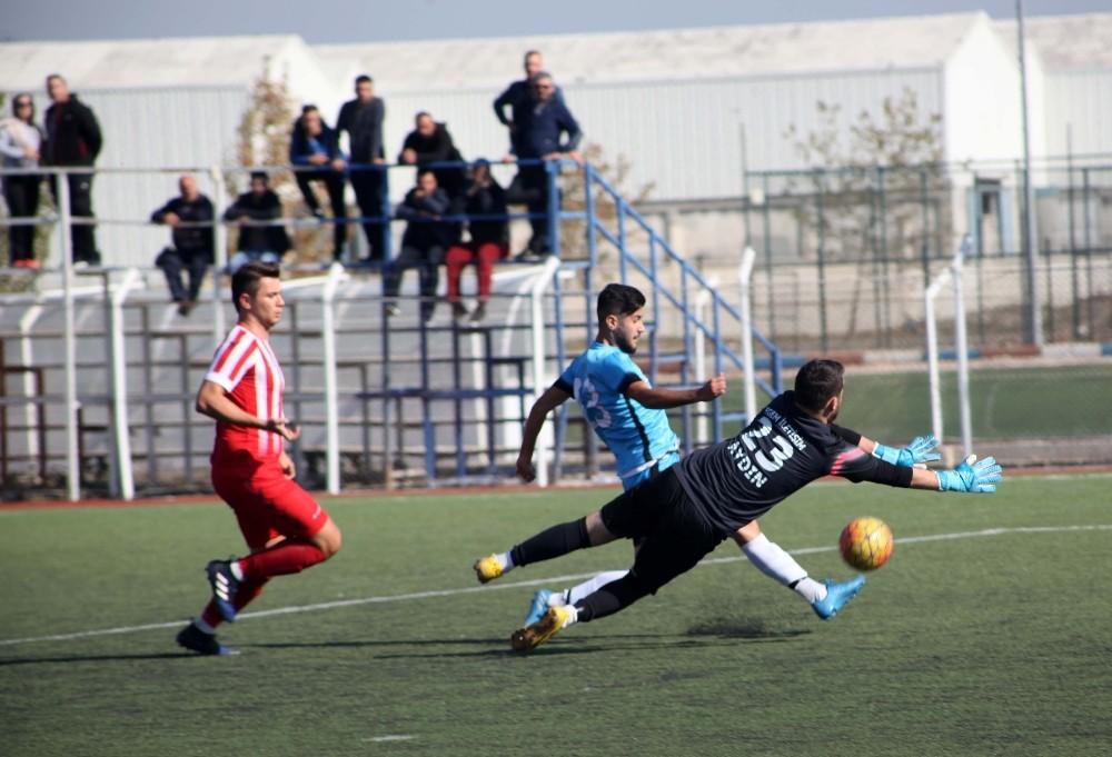 Balıkesir'de 1. amatör maçlarda haftanın sonuçları