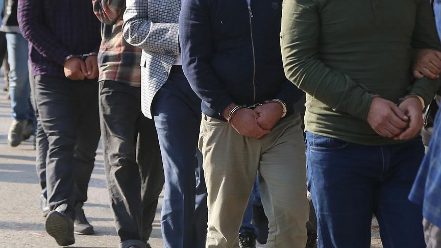 PKK adına haraç toplayan suç örgütüne operasyon : 15 gözaltı