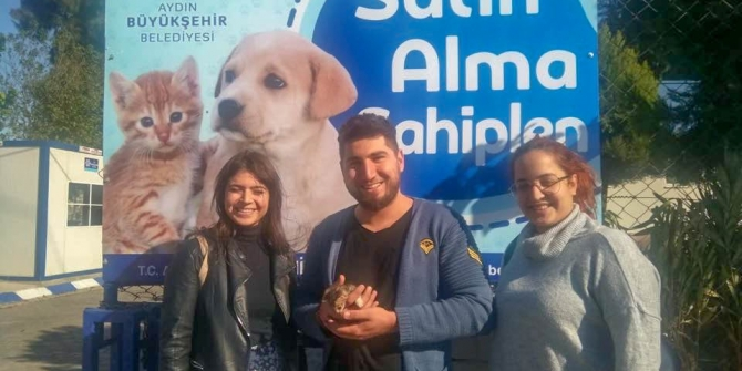 Hayvanseverlerden Büyükşehir Belediyesine teşekkür