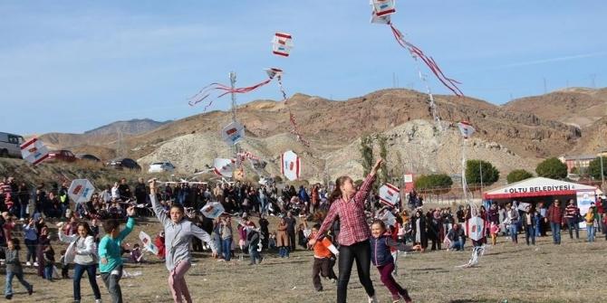 Uçurtma şöleni festivale dönüştü
