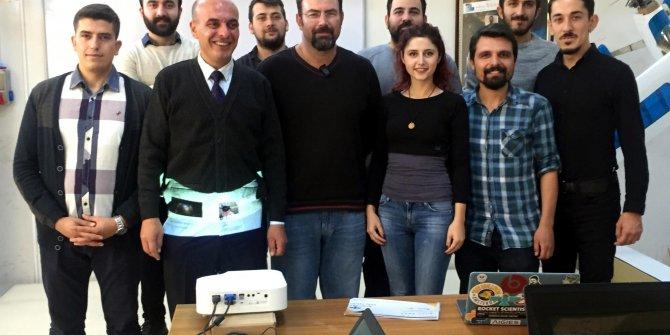 BEÜ Grizu-263 uzay takımı Türkiye'nin en küçük mini küp uydusunu tasarlıyor