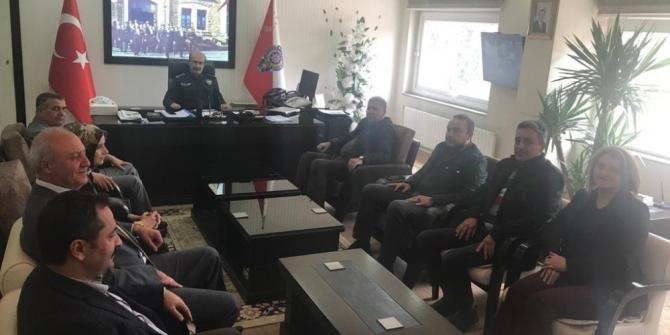 Kent Konseyi Başkanı Tırnaksız'dan ziyaretler