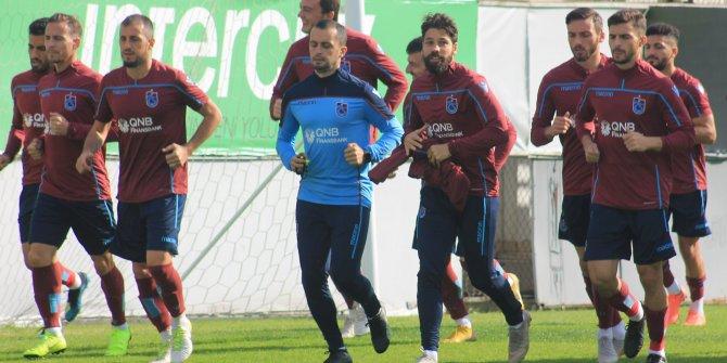 Trabzonspor, Yeni Malatyaspor maçı hazırlıklarını sürdürdü