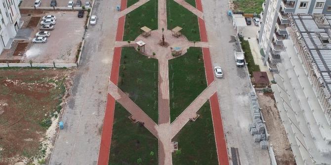 Haliliye'ye 33 yeni park kazandırıldı