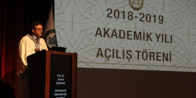 ESOGÜ 2018-2019 Akademik Yılı Açılış Töreni
