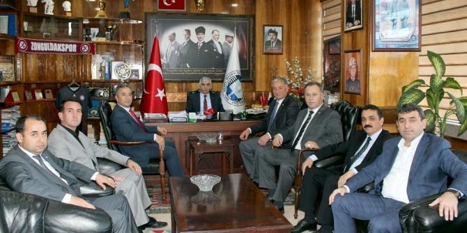 Türkiye ve Zonguldak gündemini görüştüler
