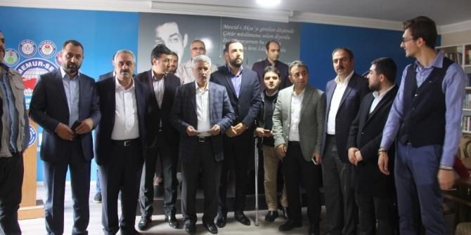 Bingöl'de Memur-Sen'den Doğu Türkistan açıklaması
