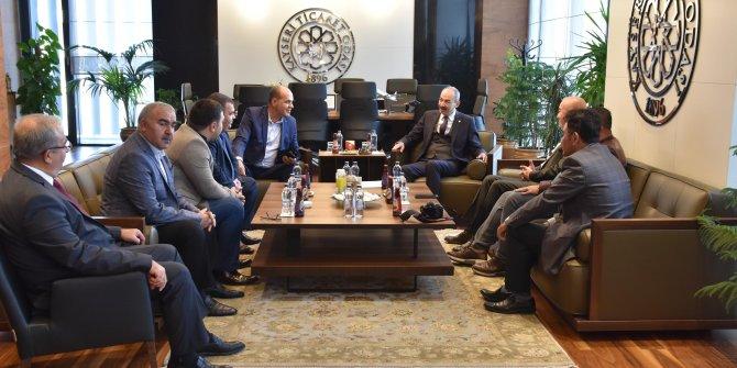 Rusya Duma heyeti, KTO Başkanı Gülsoy'u ziyaret etti